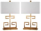 Safavieh Greek Key Table Lamps (Set of 2)