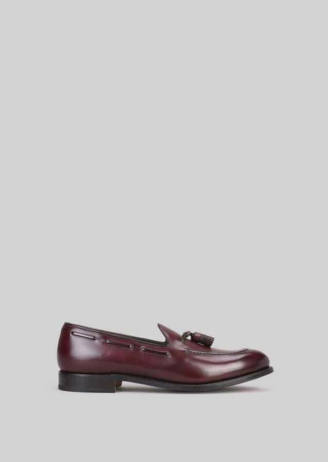 Giorgio Armani Leather Loafers