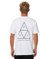 HUF Triple Triangle Mens Tee White