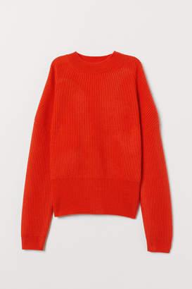 H&M Rib-knit Cashmere Sweater