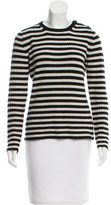 Max Mara Striped Long Sleeve Sweater