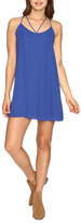 Lucy-Love Lucy Love Blue Mini Dress