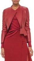 Akris Women's Nappa Leather Jacket