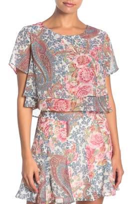 Show Me Your Mumu Candice Paisley Floral Crop Top