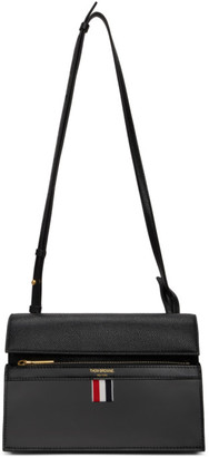 Thom Browne Black Mini Lady Folio Bag