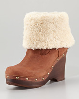 UGG Carnagie Shearling Wedge Boot