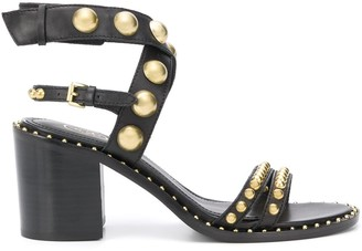 Ash Nora stud-embellished 70mm sandals