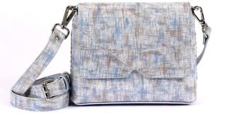 Hiva Atelier Mini Mare Straw Leather Bag Silver