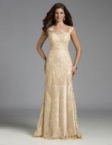 Lara Dresses - 32574 in Champagne