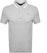 Michael Kors Greenwich Polo T Shirt Grey