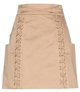 Balmain Cotton Miniskirt
