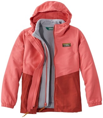 L.L. Bean Kids' Mountain Classic 3-in-1 Jacket, Colorblock