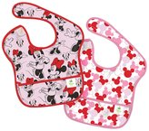 Bumkins Disney Baby Waterproof SuperBib - Polyester - Minnie - 2 ct