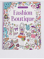 Marks and Spencer Fashion Boutique Colouring Book