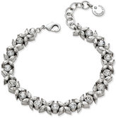 Charter Club Silver-Tone Crystal Link Bracelet, Only at Macy's