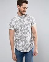 Lee Regular Fit Short Sleeve Shirt All Over Print