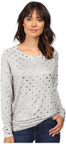Splendid Corrine Polka Dot Sweatshirt