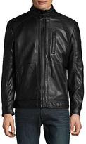Karl Lagerfeld Faux Fur-Lined Jacket