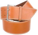 Lambertson Truex Leather Waist Belt