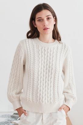 Velvet by Graham & Spencer Kiana Cable Knit Sweater