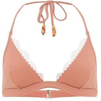 Stella McCartney Scalloped triangle bikini top