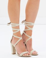 Spurr Roman Lace Up Heels