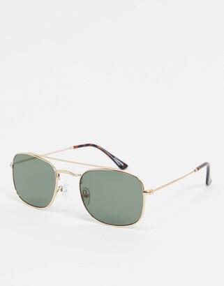 A.kjaerbede square sunglasses in gold