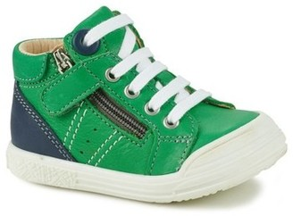 GBB ANATOLE boys's Shoes (High-top Trainers) in Green