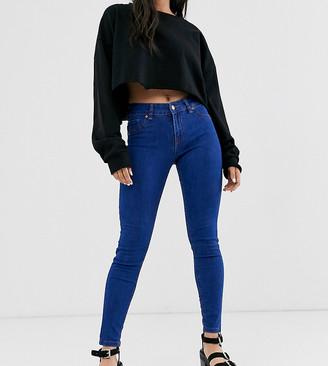 Bershka push up jeans-Blue
