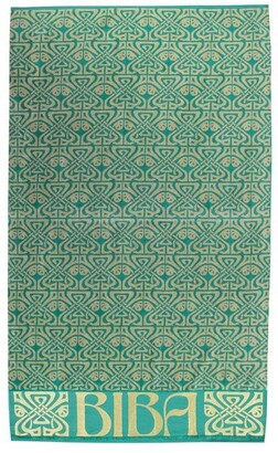 Biba All Over Deco Print Beach Towel