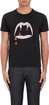 """Saint Laurent Men's """"Blood Lust"""" Cotton T-Shirt-BLACK"""