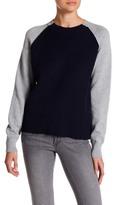 Current/Elliott The Colorblock Wool Blend Sweater