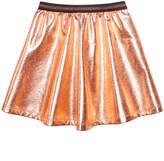 Epic Threads Foil Fleece Skater Skirt, Little Girls, Created for Macy's