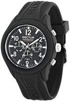 Sector Men's R3251576001 Analog Display Quartz Black Watch