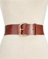 MICHAEL Michael Kors Wide Leather Belt