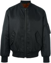 Yves Salomon fur interior bomber jacket