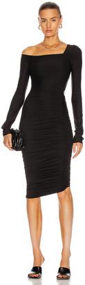 Alix Chambers Dress in Black | FWRD