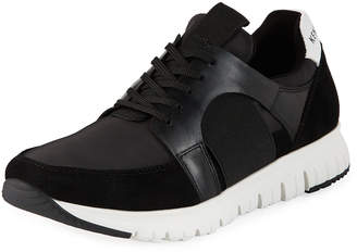 Kenneth Cole Men's Lace-Up Leather Trainer Sneakers