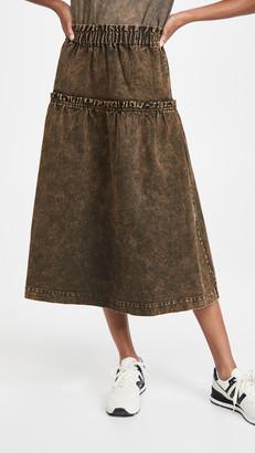 Sea Hildur Acid Wash Skirt
