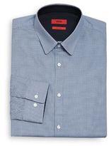 HUGO BOSS Extra Slim Fit Micro Printed Dress Shirt