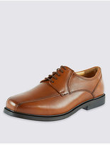 M&S Collection Big & Tall Leather Tramline Lace-up Shoes