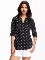 Old Navy Crinkle-Gauze Tunic for Women