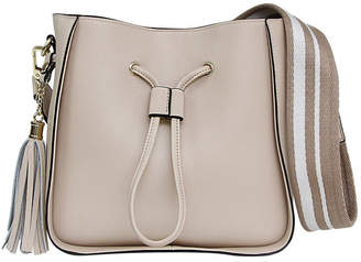 Belle & Bloom DAIS400LAT Latte Daisy Drawstring Shoulder Bag