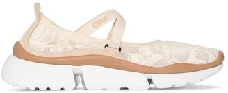 Chloé Sonnie chunky-sole sneakers