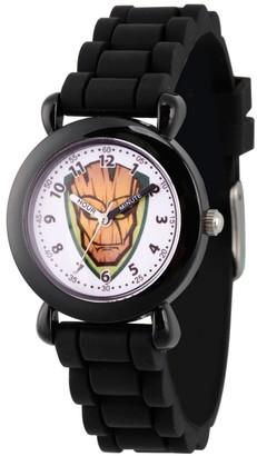Marvel Boy' Guardian Of The Galaxy Evergreen Groot Platic Time Teacher Watch - Black
