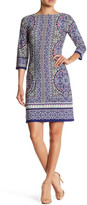 Maggy London Moroccan Medallion Print Dress