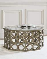 Hooker Furniture Brucie Hexagonal Coffee Table