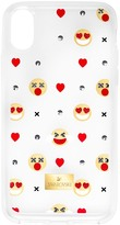 Swarovski Humorist Smartphone Case with Bumper, iPhone® X, Transparent