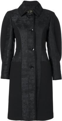 Etro Paisley Puff-Sleeve Coat