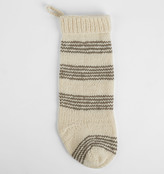 Rejuvenation Striped Wool Knit Stocking